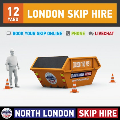 12 Yard Skip Hire (North London)