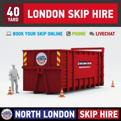 40 Yard RORO Hire (North London)